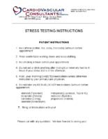 Stress Test Instructions